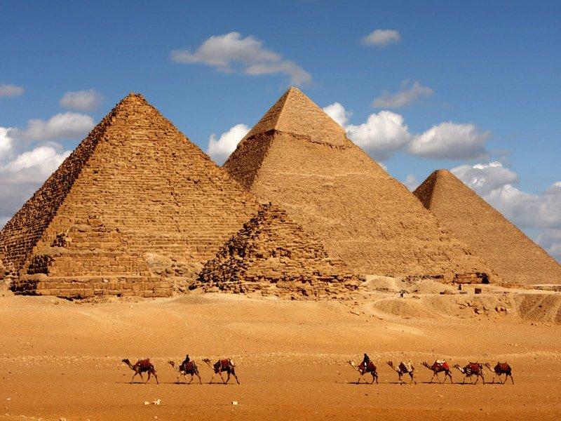 The Pyramdis at Giza
