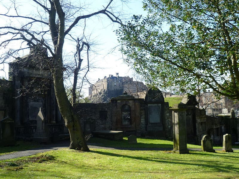 Greyfriars Kirkyard, Edinburgh, Scotland