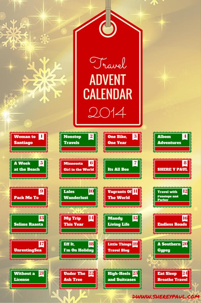 travel advent calendar