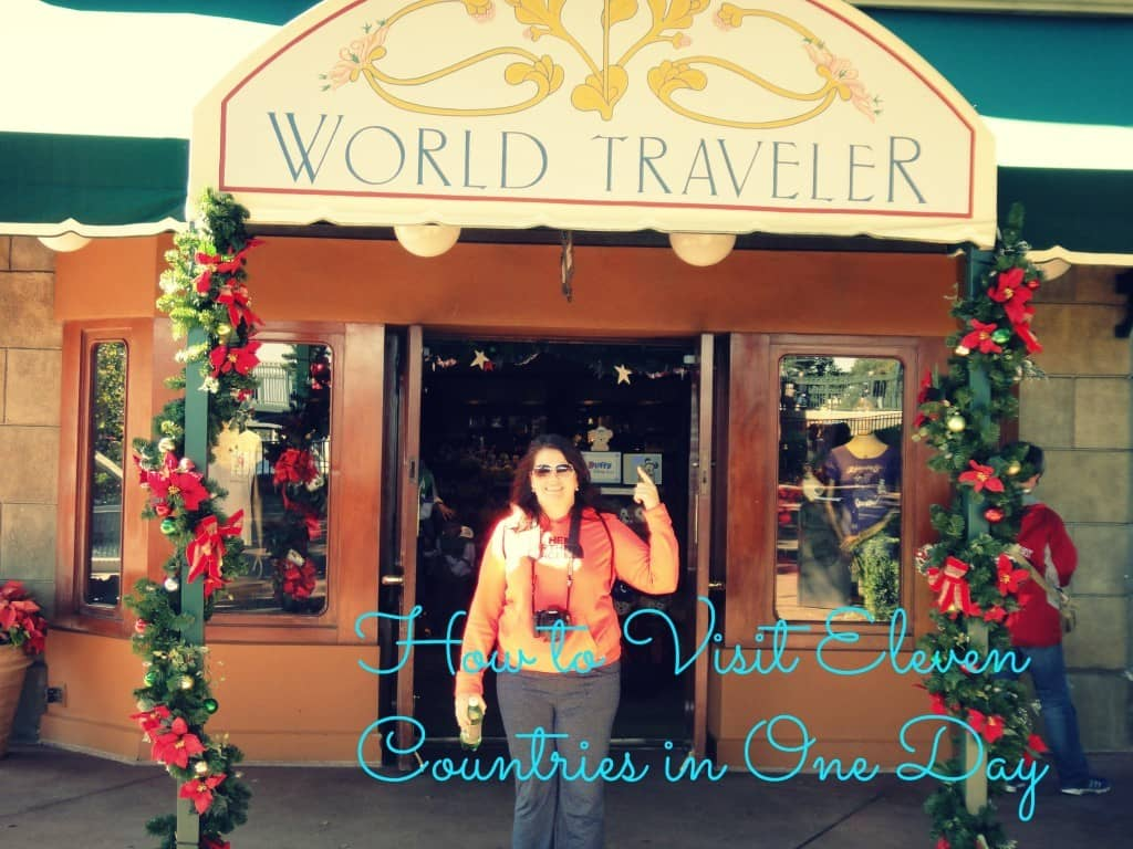 How I Visited 11 Countries in One Day, Disney World, Epcot, Orlando, Florida