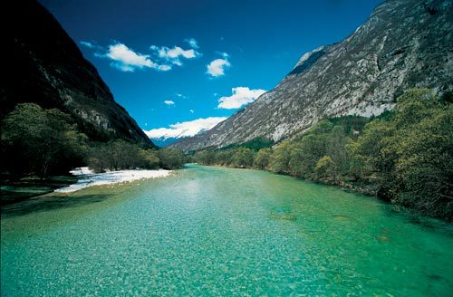Things to do in Slovenia, Soca River