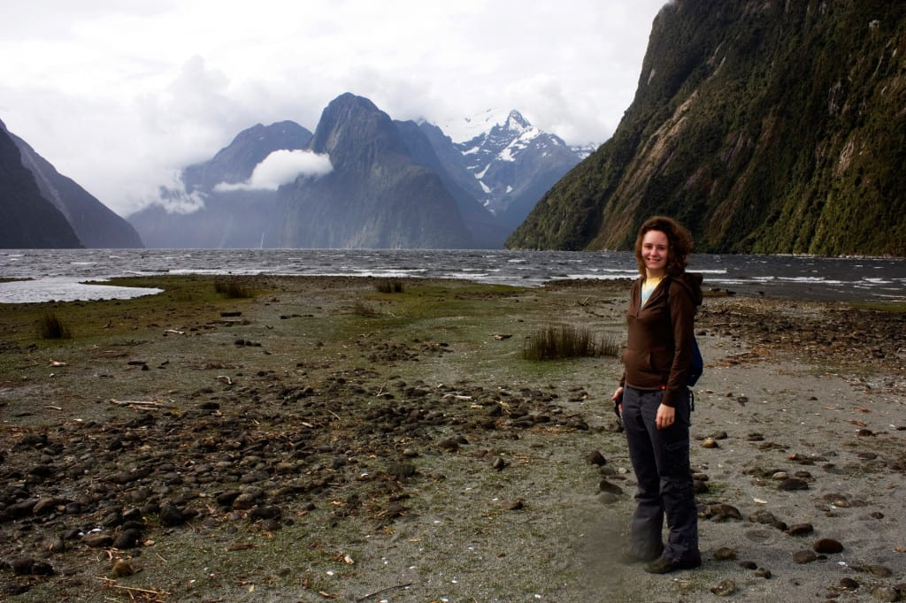 hiking milford sound