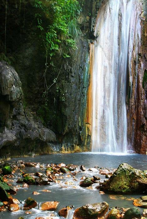 diamond waterfall, st lucia, wednesday wanderlust