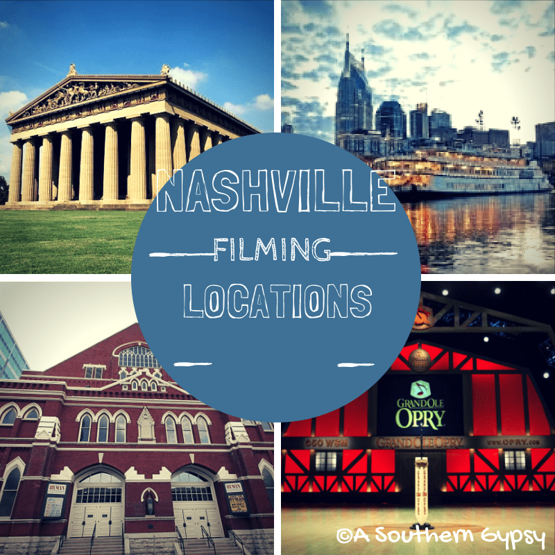 nashville filming locations