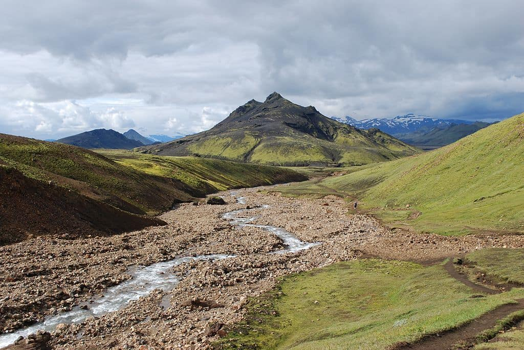 hiking trails, iceland