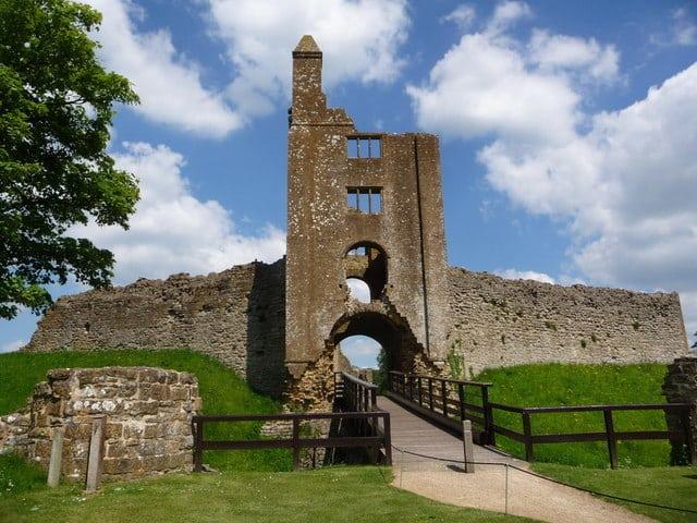 old sherbourne castle, dorset, england