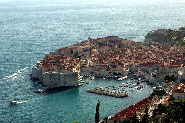 game of thrones filming locations, dubrovnik, croatia
