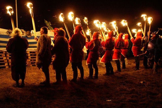festivals of the world, up helly aa