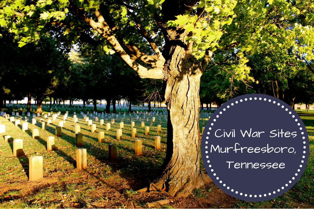 Civil War Sites, Murfreesboro, Tennessee