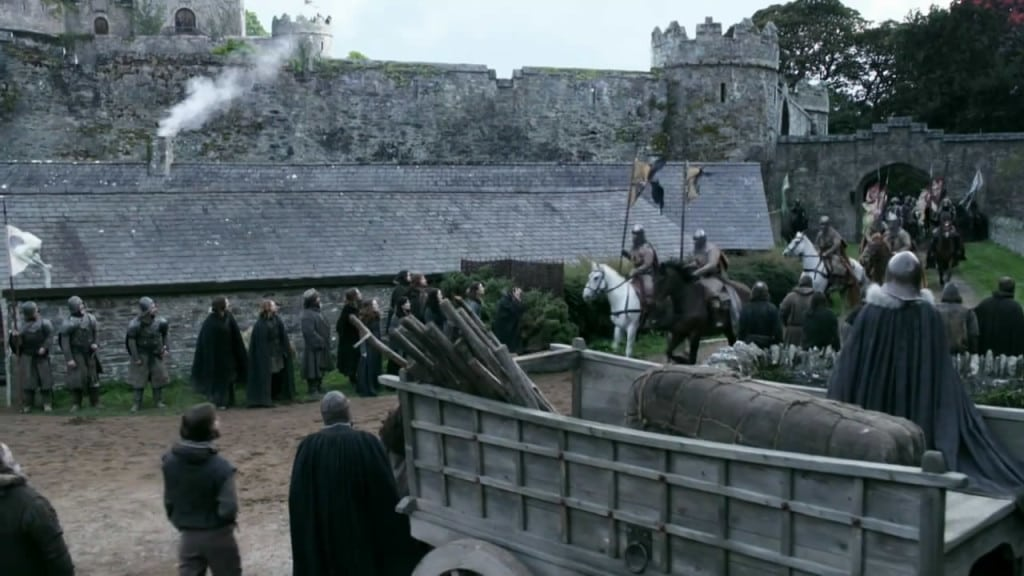 game of thrones filming locations, winterfell, ireland