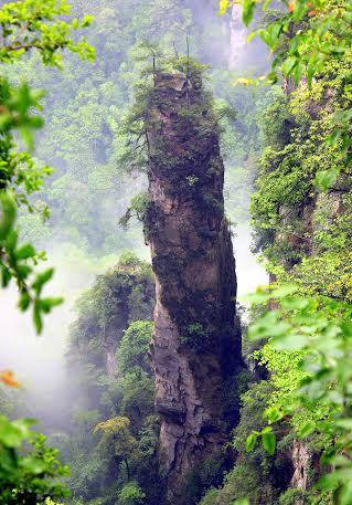 HALLELUJAH FLOATING MOUNTAINS ZHANGIAJIE CHINA