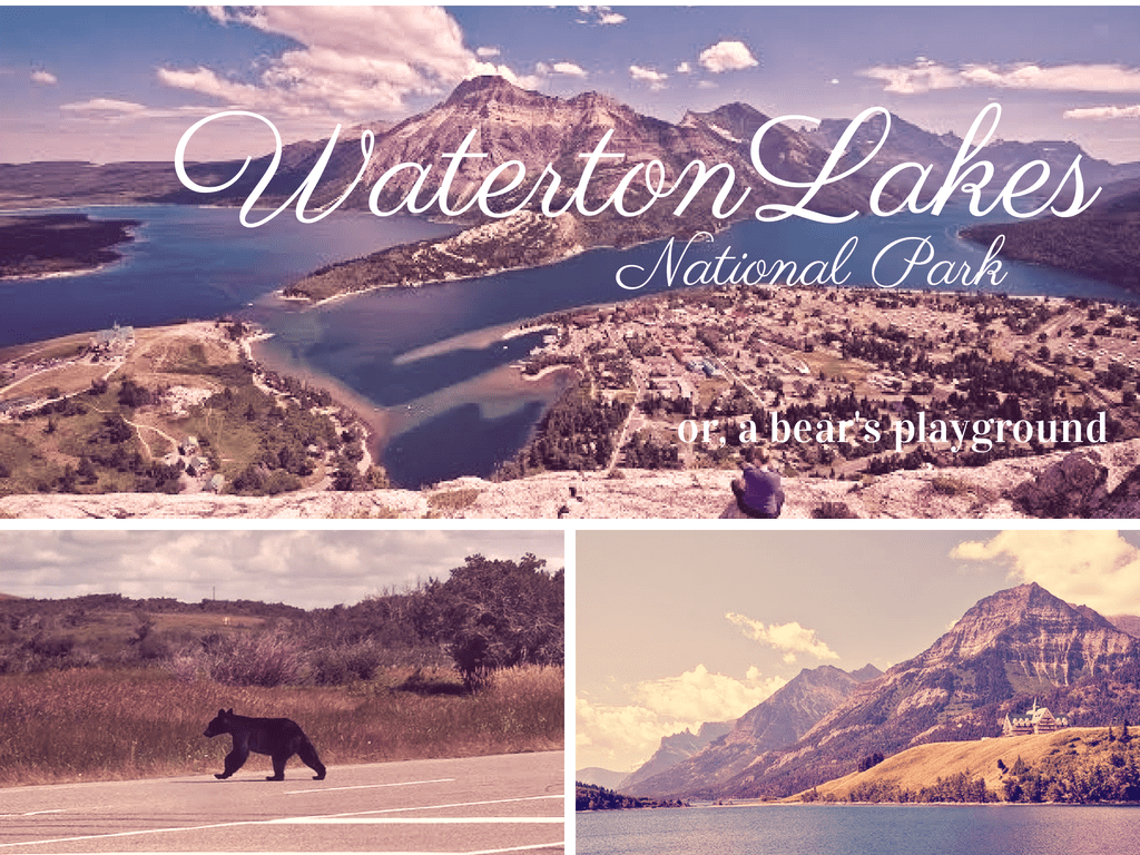 waterton lakes national park canada