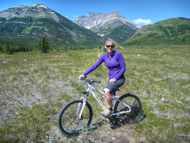 biking waterton lakes national park