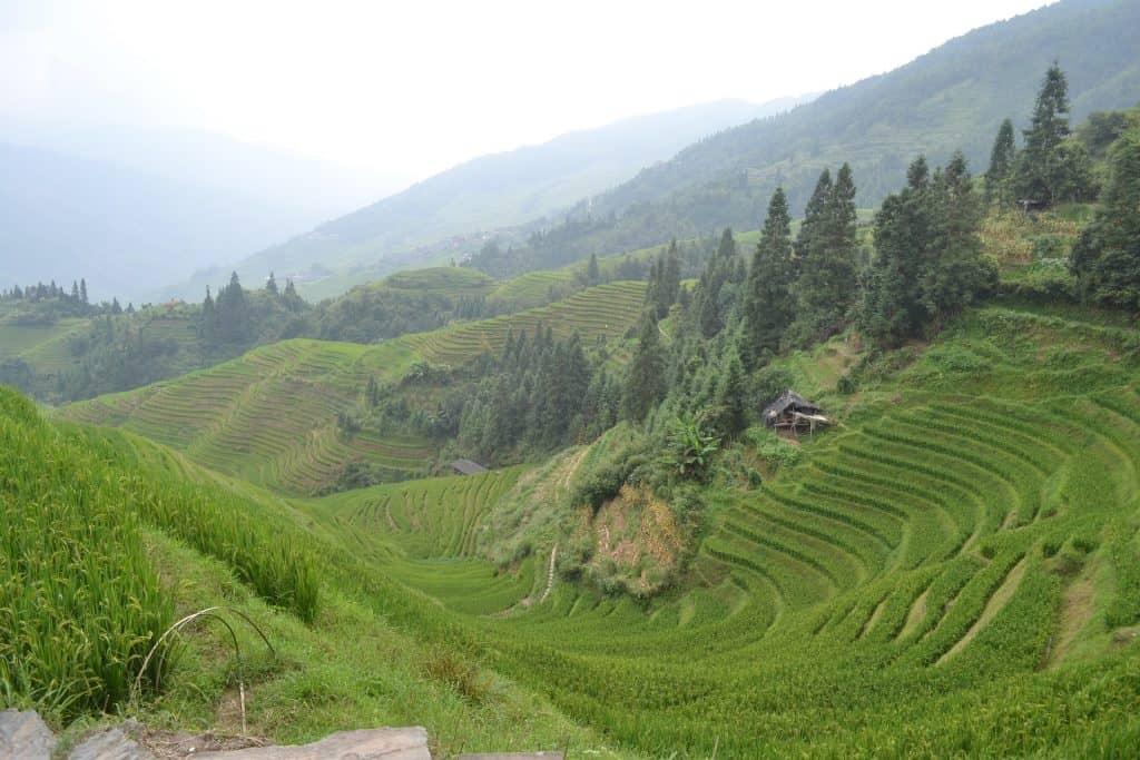 hiking in china