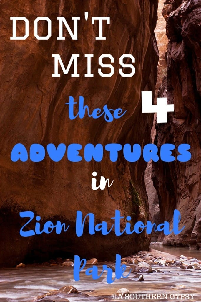 FINDING ADVENTURE IN ZION NATIONAL PARK