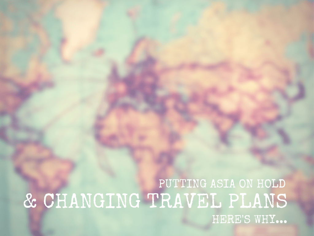 CHANGING TRAVEL PLANS