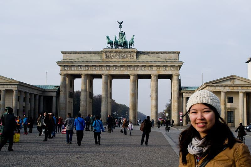 Adelina in Berlin - Love this city