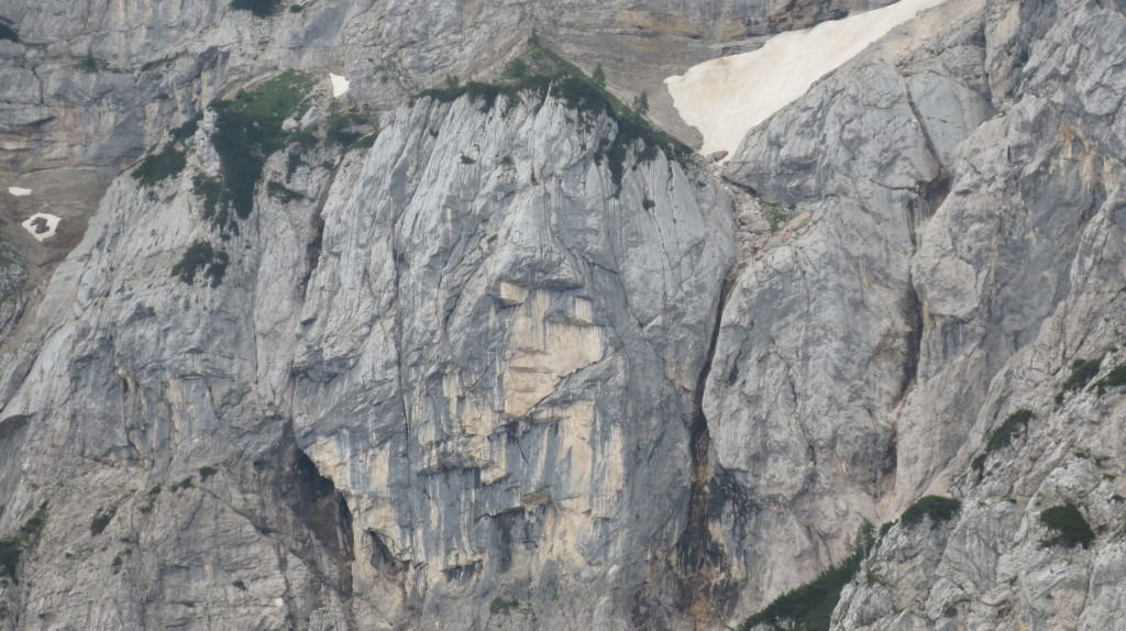 fairy in the mountain face slovenia