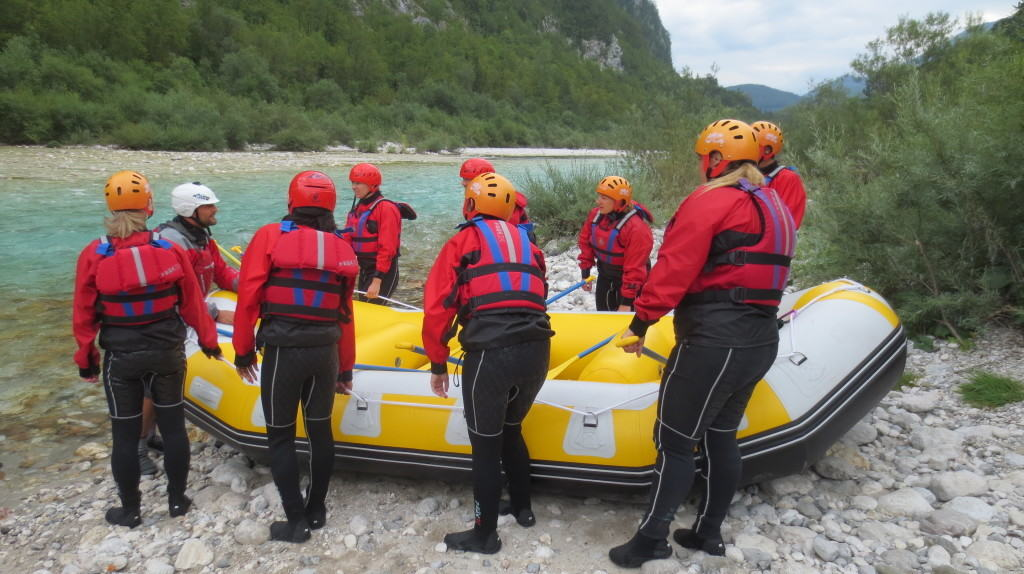 white water rafting slovenia