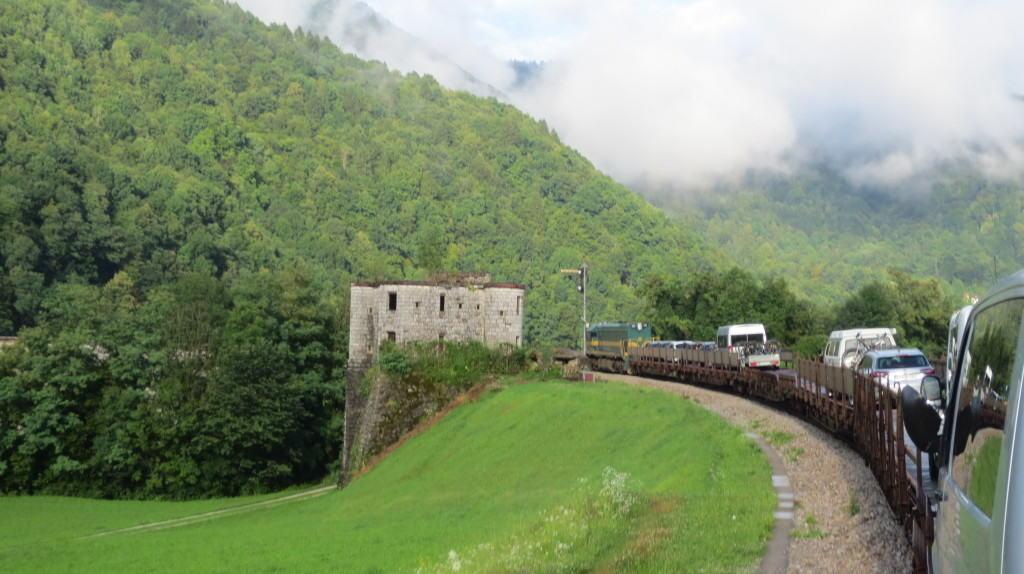 bled, slovenia train