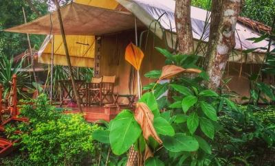 GLAMPING IN THAILAND HINTOK RIVER CAMP @ HELLFIRE PASS