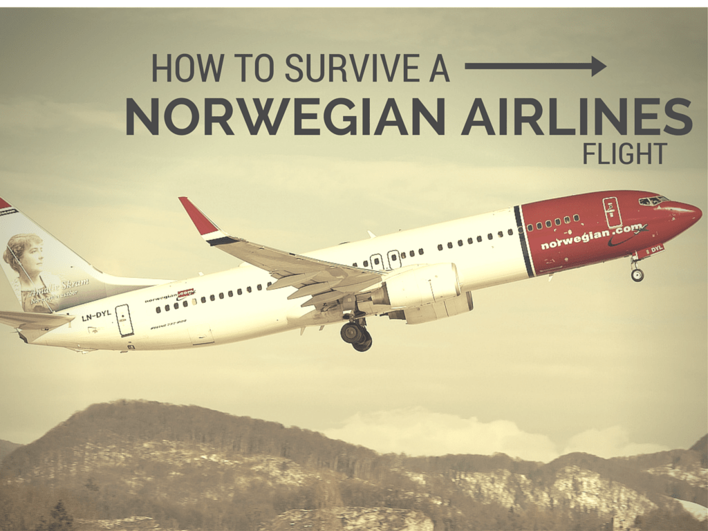 how to survive a norwegian airlines flight