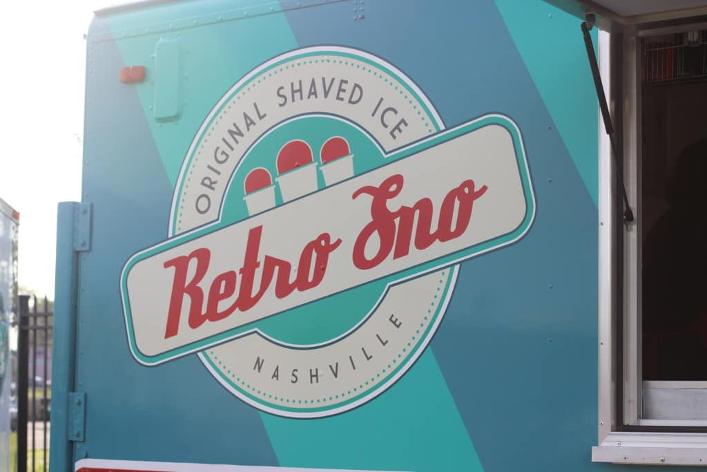 NASHVILLE FOOD TRUCK FRIDAY | RETRO SNO