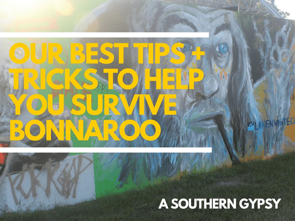 TIPS + TRICKS TO HELP YOU SURVIVE BONNAROO