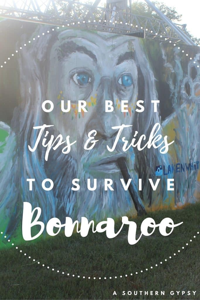 OUR BEST TIPS & TRICKS TO SURVIVE BONNAROO