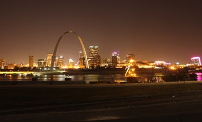 SUNDAY SNAPSHOT | CITY LIGHTS IN ST LOUIS