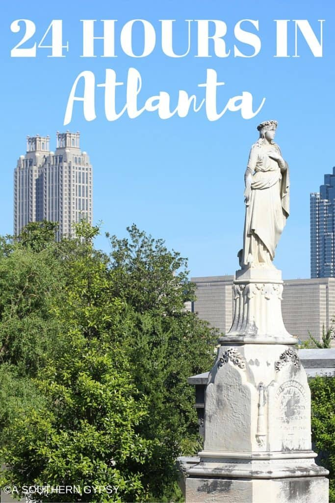 24 HOURS IN ATLANTA GEORGIA