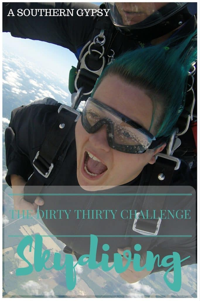 THE DIRTY THIRTY CHALLENGE | SKYDIVING WITH SKYDIVE TENNESSEE