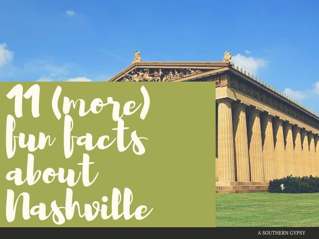 FUN FACTS ABOUT NASHVILLE