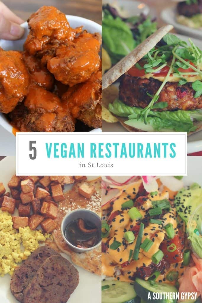 FIVE VEGAN RESTAURANTS IN ST LOUIS