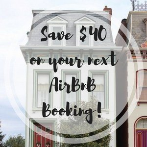 save $40 on your next airbnb booking!