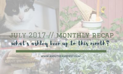 JULY MONTHLY RECAP