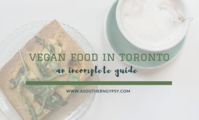 VEGAN FOOD IN TORONTO