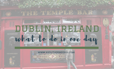 WHAT TO DO IN DUBLIN IN ONE DAY