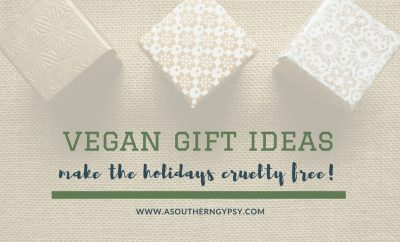 vegan gift ideas