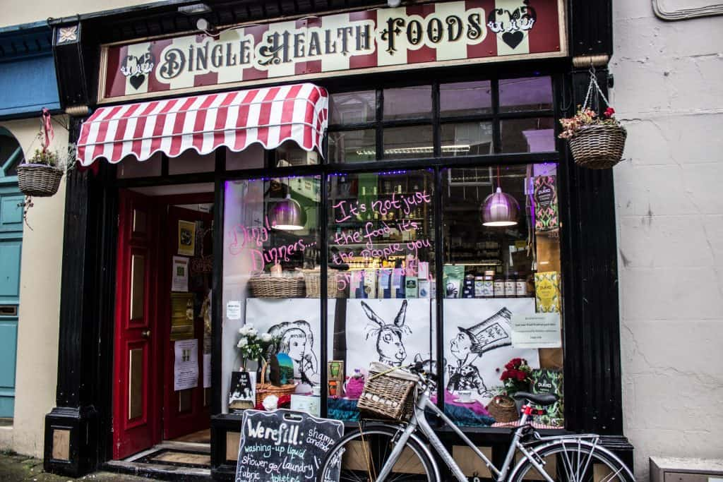 places to eat in dingle
