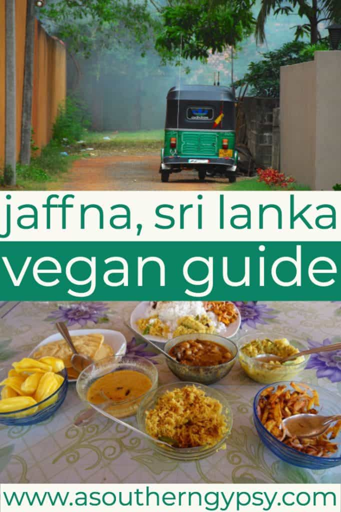 vegan food in jaffna