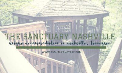 Unique Accommodation in Nashville | The Sanctuary Treehouse Cabin - A Southern Gypsy