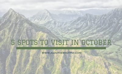 destinations to visit in october