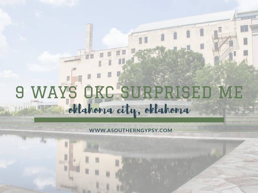 why oklahoma city surprised me