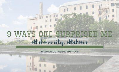 why oklahoma city surprised me
