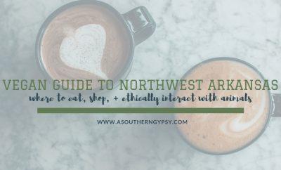 vegan options in northwest arkansas