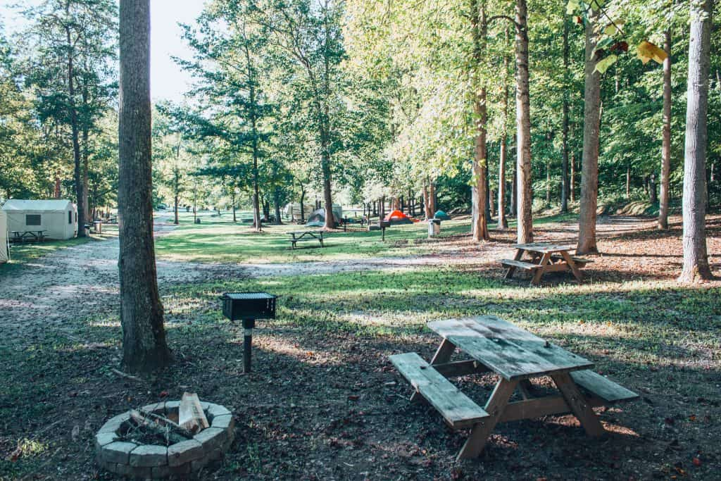 rock island campground