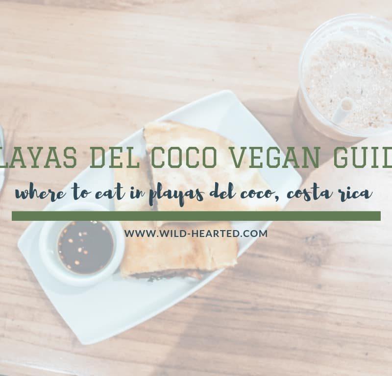 Vegan Guide for Playas del Coco, Costa Rica