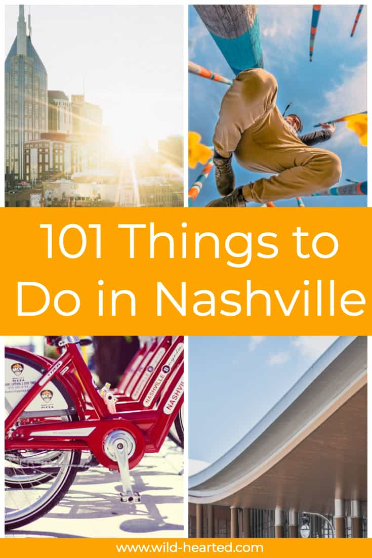 nashville bucket list