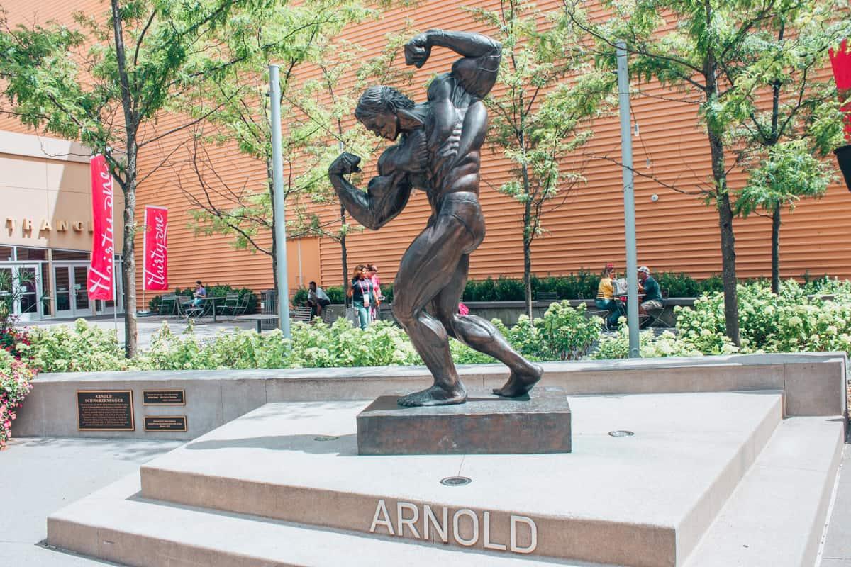 arnold statue columbus ohio